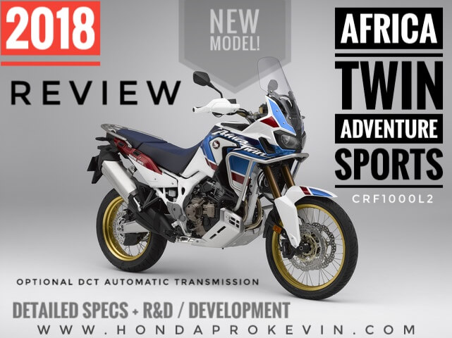 Honda will develop a light version of the model Africa Twin