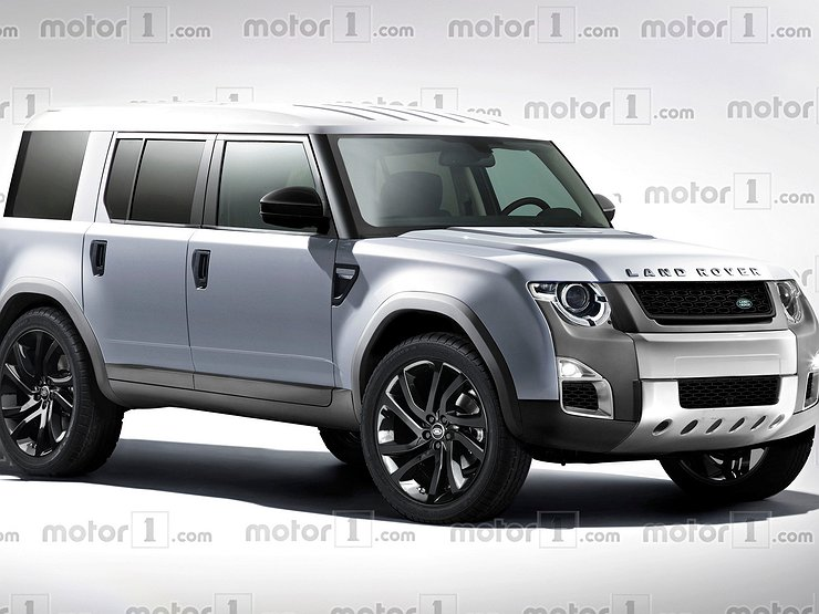 Styling Of Defender From Land Rover Has Been Teased