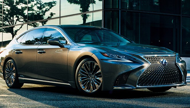 The Lexus flagship appeared on the market