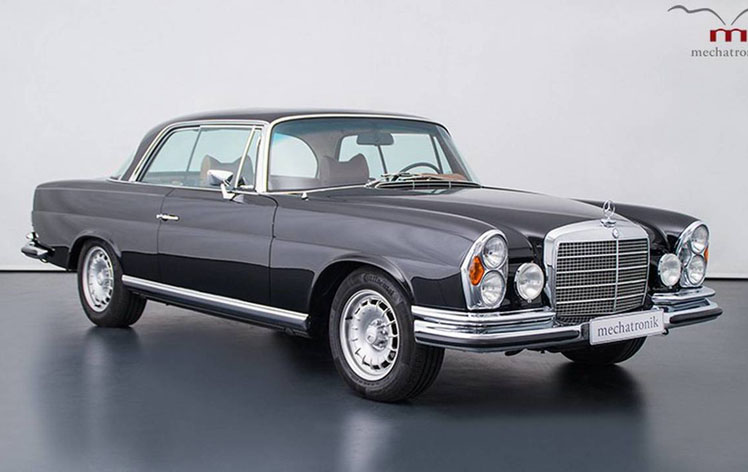 Improved retro-model Mercedes received a sky-high price tag