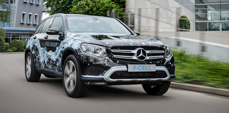 Less Fuel-Cell Cars From Mercedes-Benz