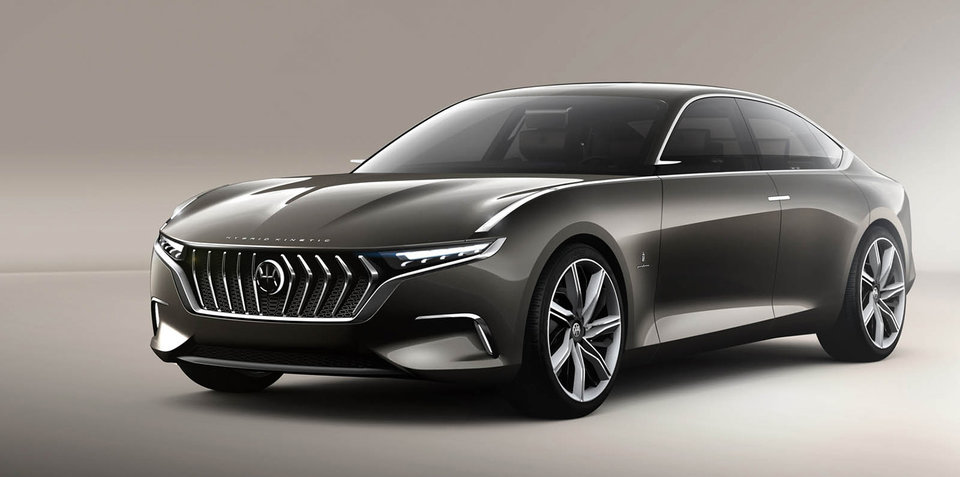 Production Of Pininfarina-Styled HKG H600 Concept