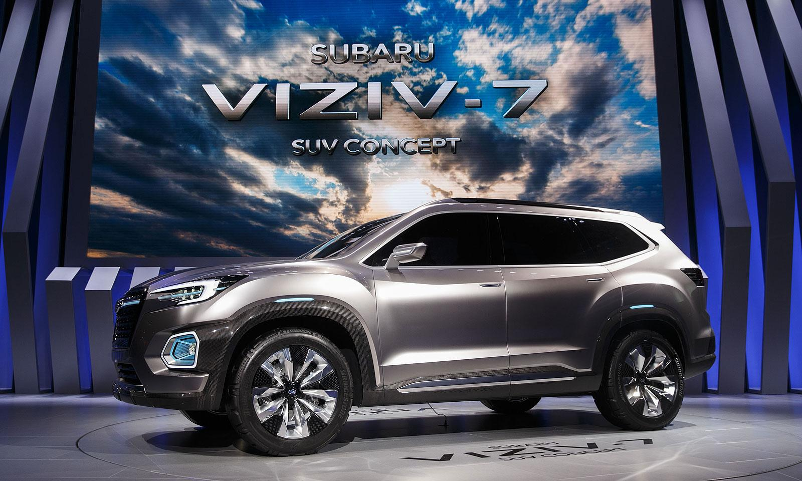 Subaru 7 Seater >> Subaru Published A Teaser Of The New 7 Seat Crossover