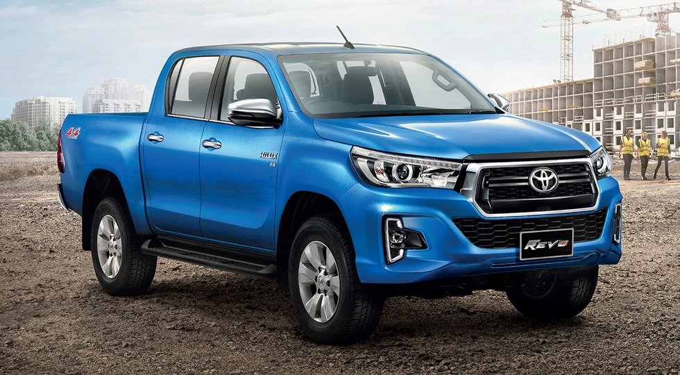 Toyota declassified the new Hilux pickup truck