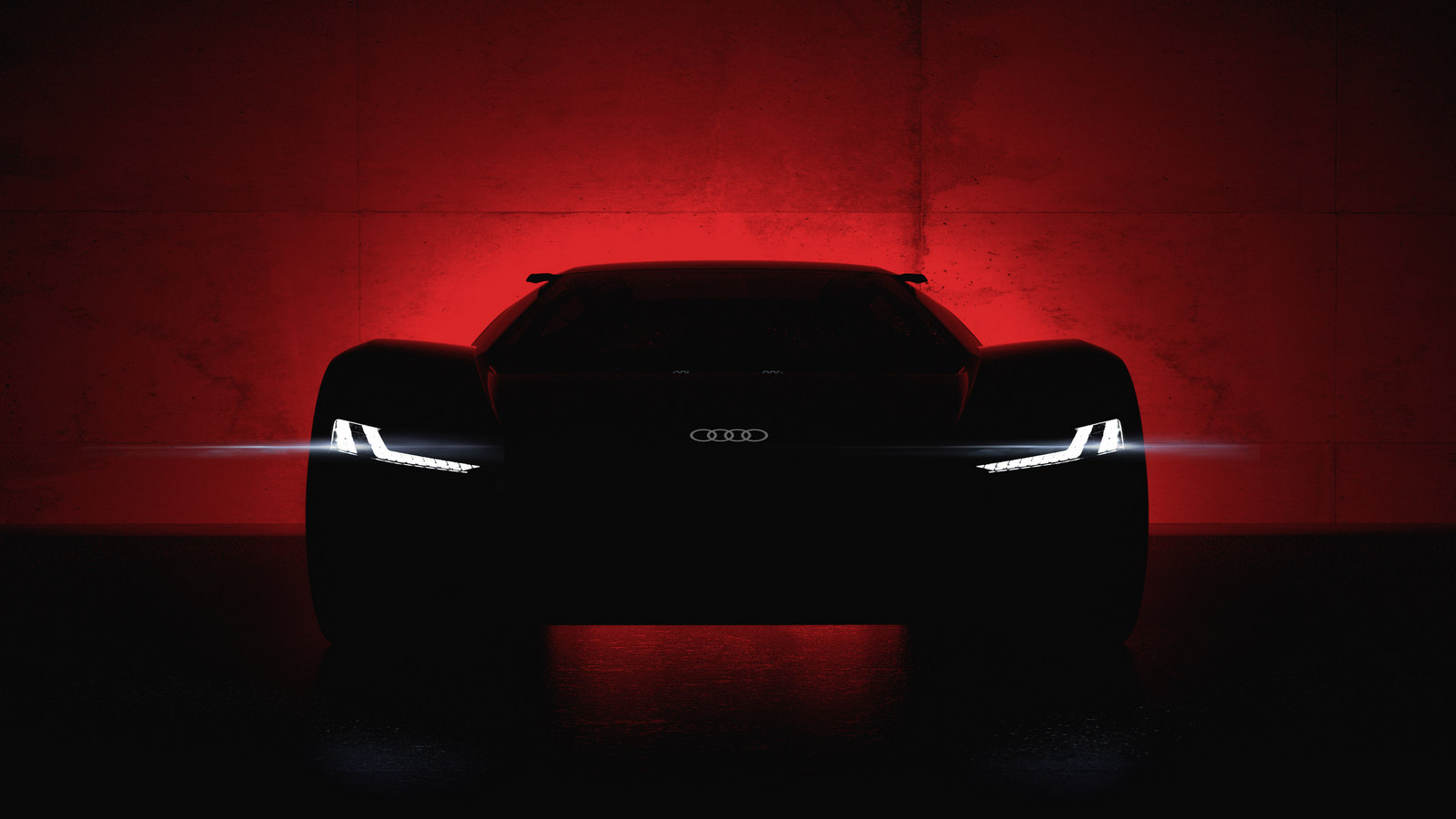 Audi showed a new supercar in the first image