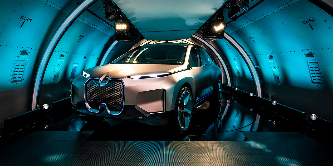 A huge electric SUV from BMW debuted officially