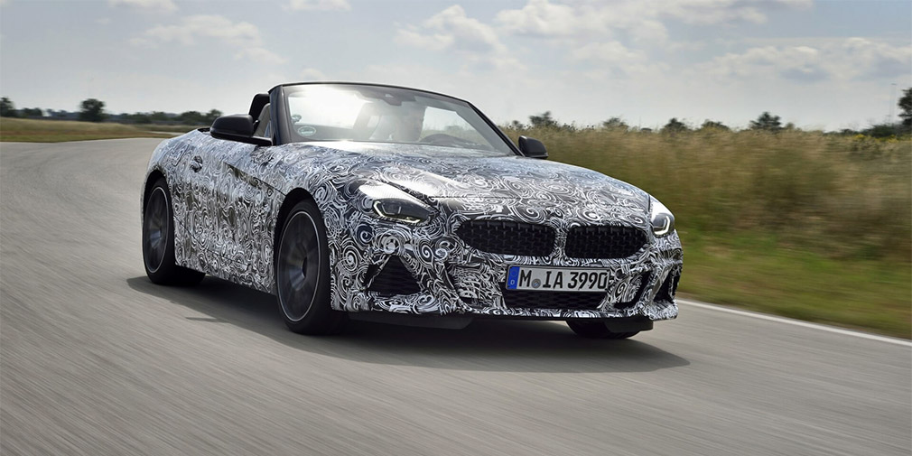 Announced the launch time of BMW Z4