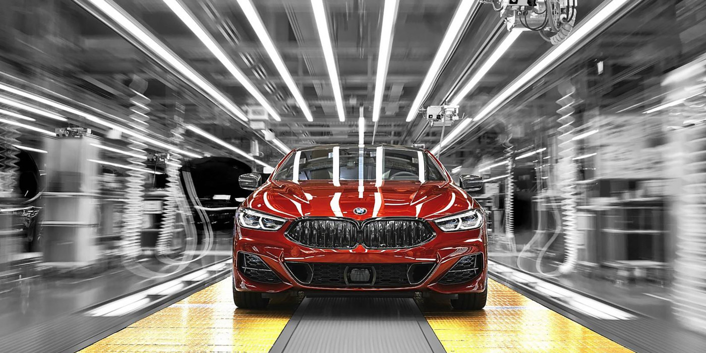 BMW 8-Series coupe: the release is beginning