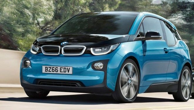 BMW i3 lost own range of power reserve