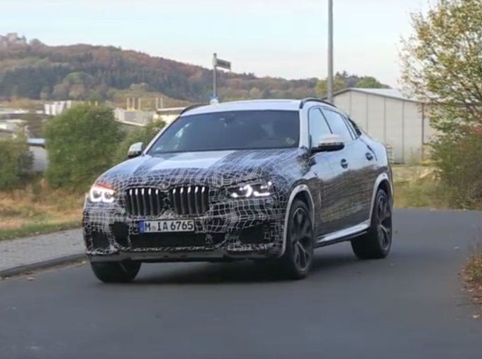 Restyled BMW X6 prepares for premiere in 2019