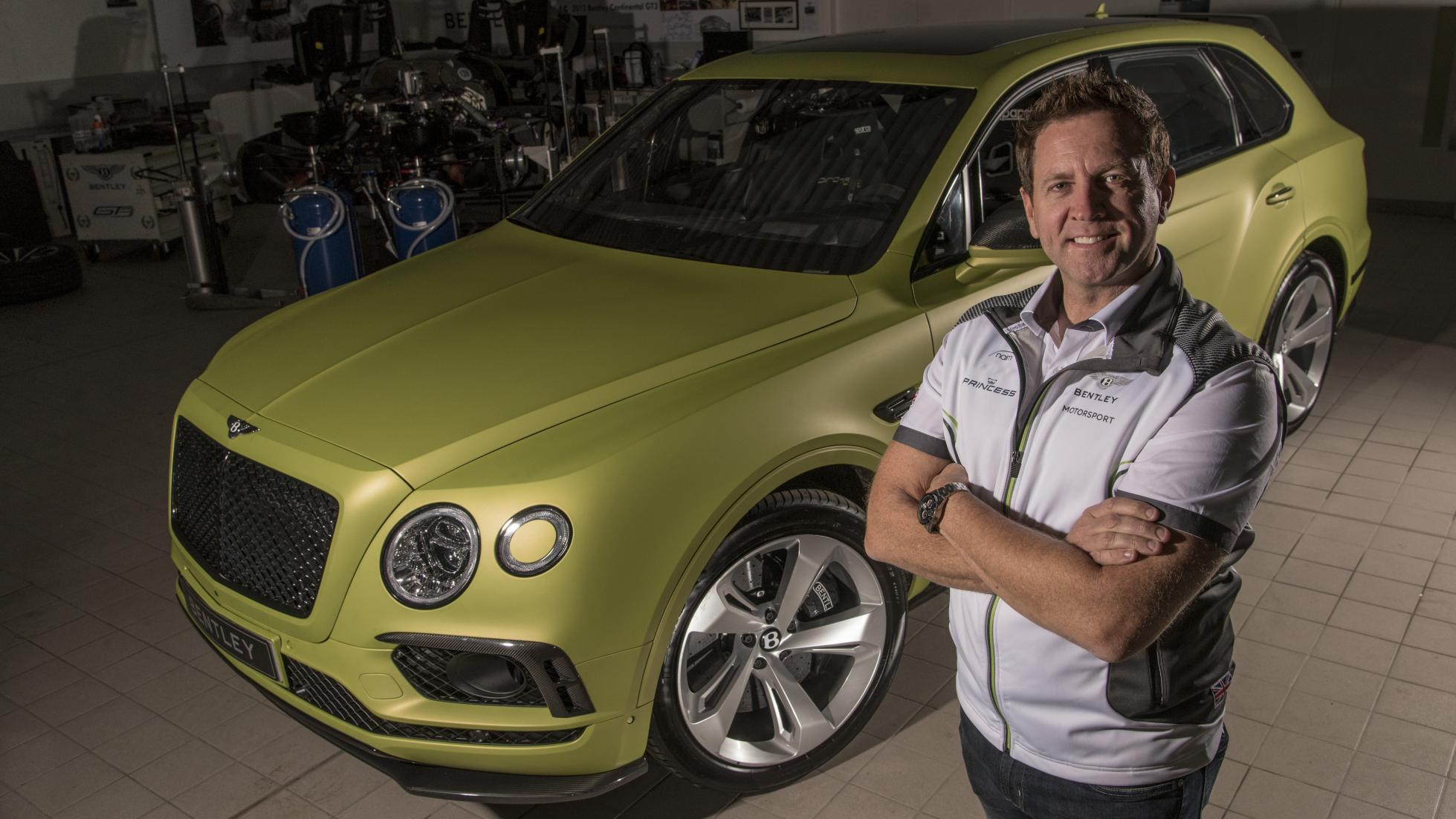 Pikes Peak In Modified Bentayga From Bentley