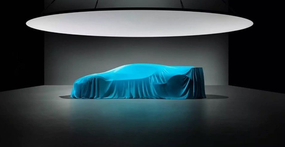 Bugatti Divo hypercar is shown in a new image