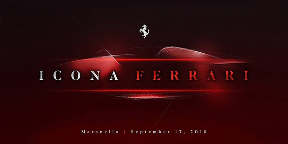 A new supercar is expected from Ferrari