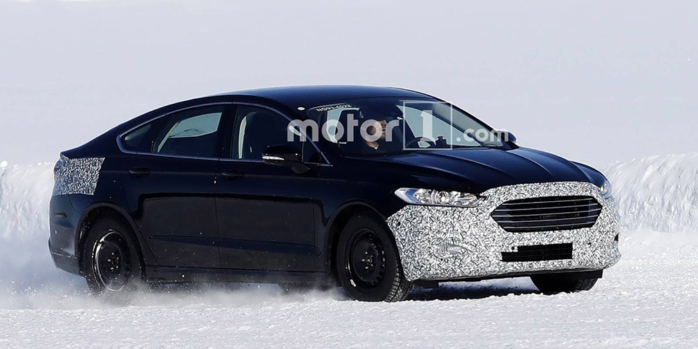 Ford started testing an updated Mondeo