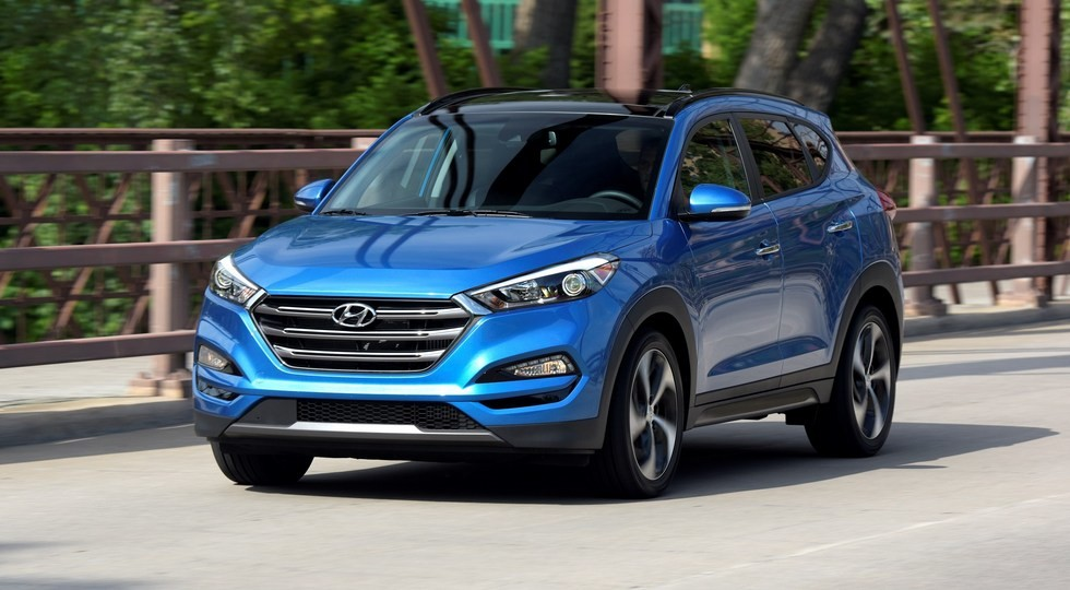 Hyundai Tucson equipped with a new engine