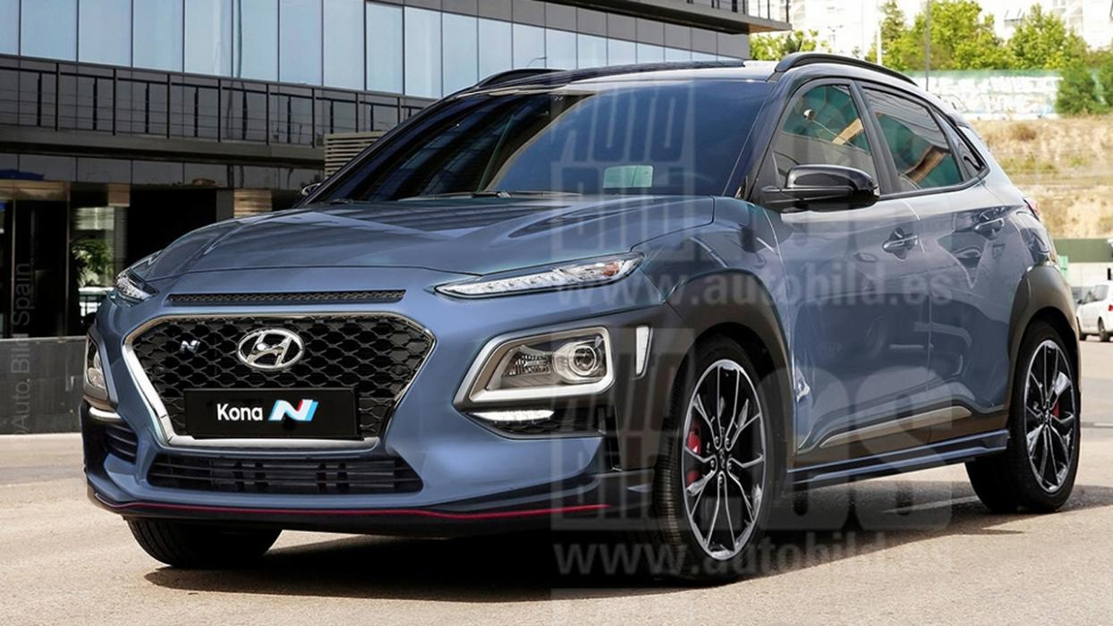 hyundai plans to release a sports version of the kona n suv car news. Black Bedroom Furniture Sets. Home Design Ideas