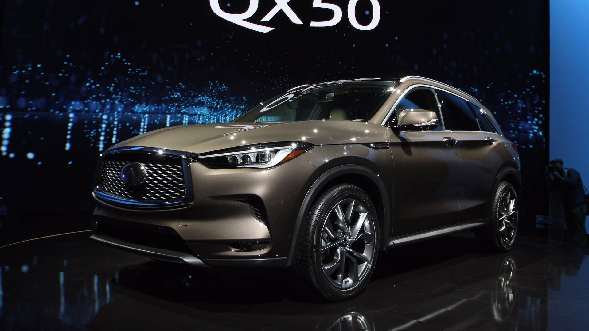 Infiniti actively makes 5 new products