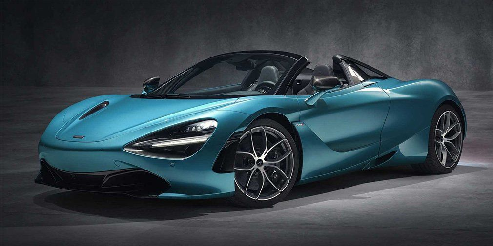 McLaren 720S Supercar take a foldable roof