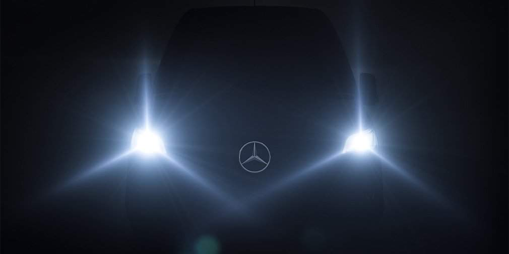 Meet Next Year's Mercedes Sprinter On February 6th