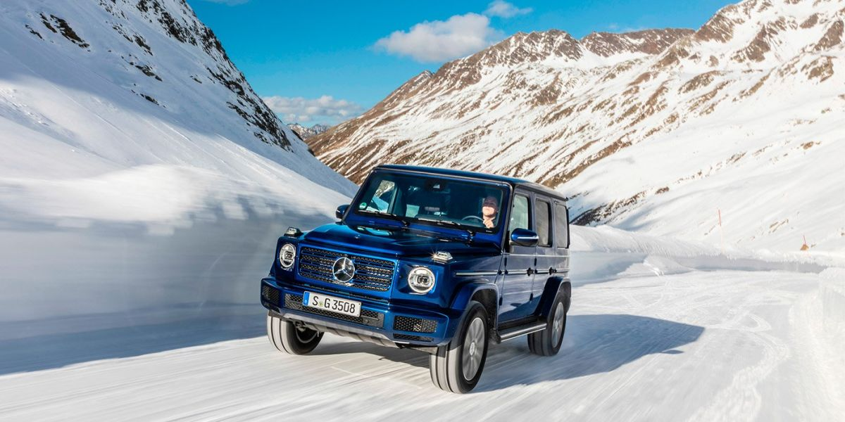 The new Mercedes-Benz G-Class has a diesel engine