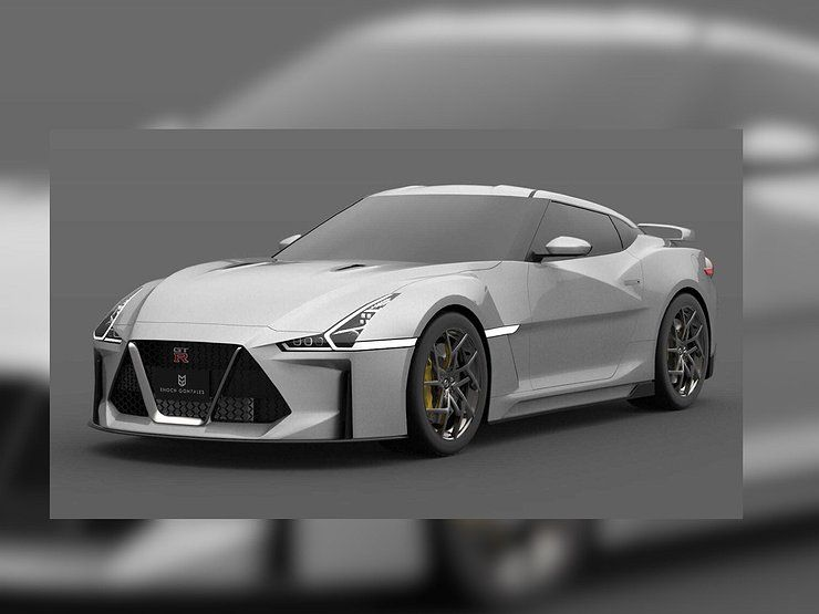 Newest Nissan GT-R appeared in the first picture