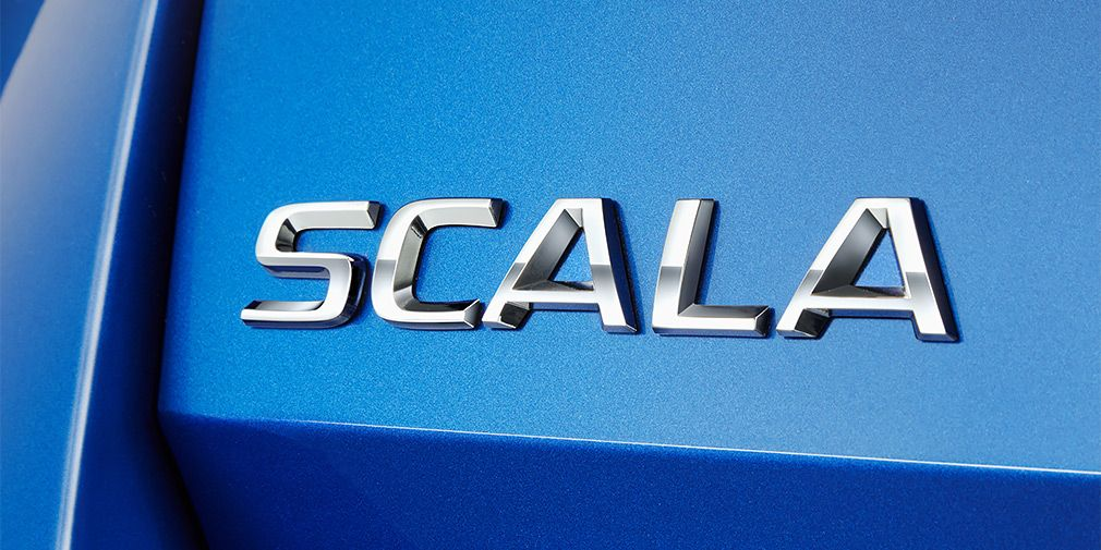 Skoda Scala - announced a new hatch
