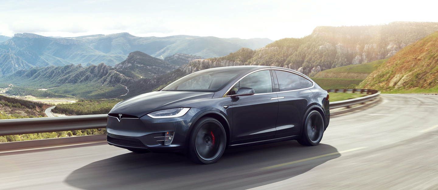 Electric Tesla Model X blew up after the accident