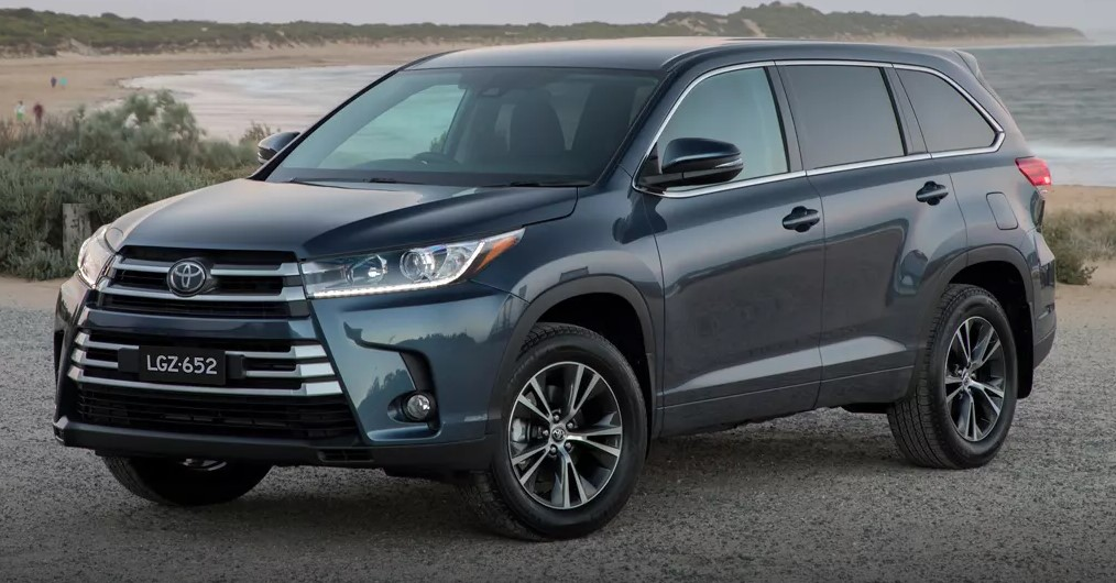 Specs Of This Year's Toyota Kluger