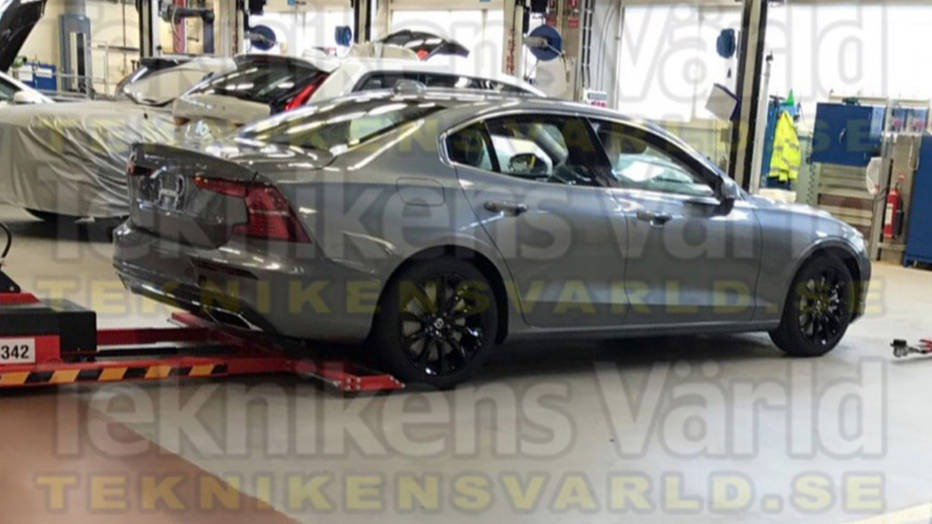 Published the first photo of the new Volvo S60