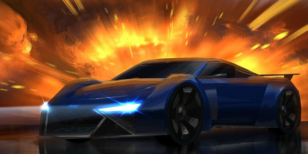 Audi created a cool supercar for the Spies in Disguise cartoon (VIDEO)