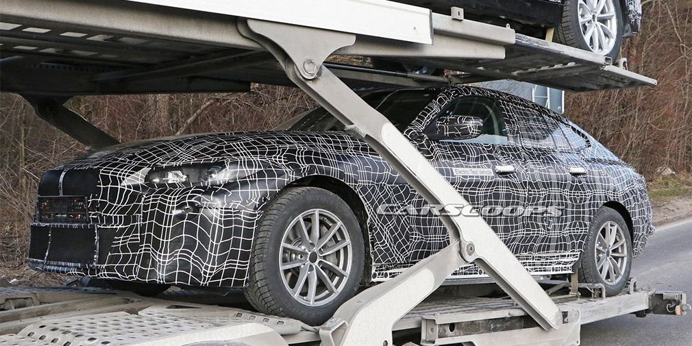 The newest BMW i4 on electricity appeared on the first photos