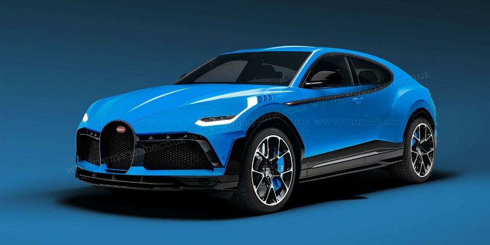 The most expensive SUV in the world will appear from Bugatti