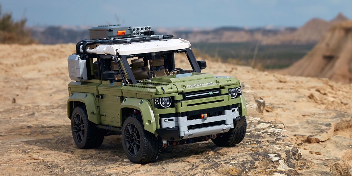 Lego showed an identical copy of the latest Land Rover Defender (VIDEO)