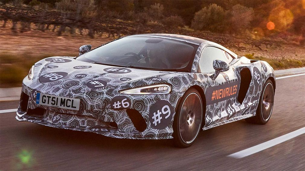 The most practical McLaren supercar actively passes tests