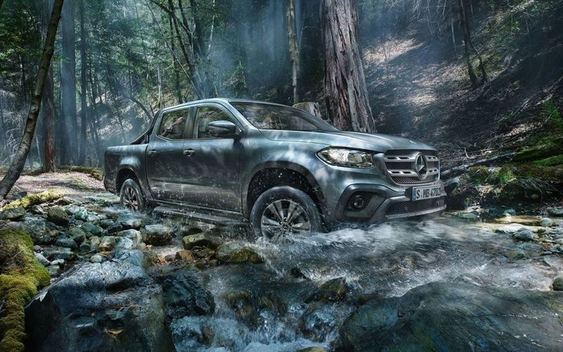 Mercedes-Benz close X-Class project