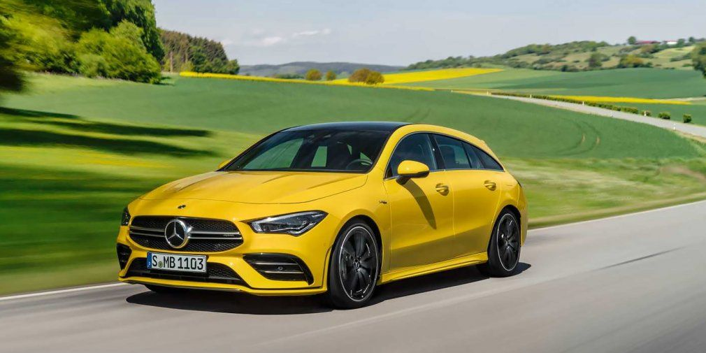 Mercedes presented the AMG variation of the newest CLA Shooting Brake