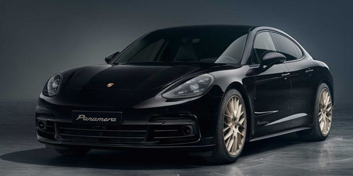 Porsche Panamera has got a 'golden' version