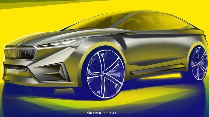 A new electric SUV teaser from Skoda appeared