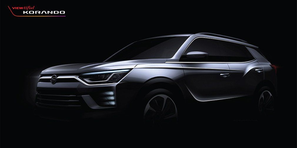 New SsangYong Actyon looked like a design