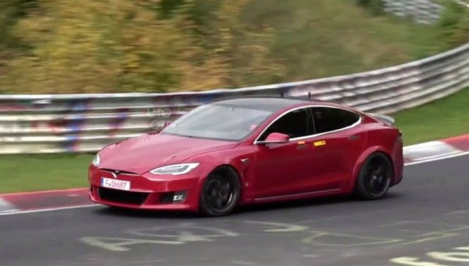 Tesla continues to prepare for a record race at the Nurburgring