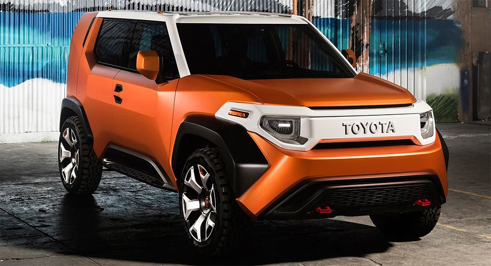 The announcement of the newest SUV from Toyota