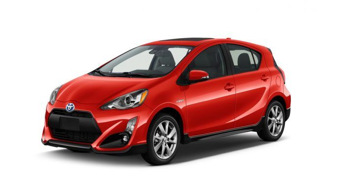 Toyota Prius C Hybrid Complete Production
