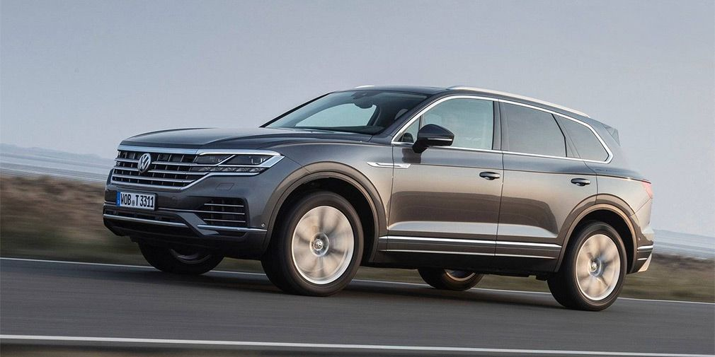 Volkswagen approved a 'hot' Touareg