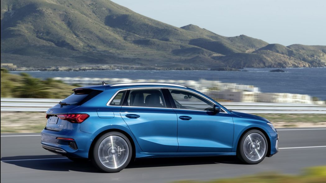 The new Audi A3 sedan expects at the end of 2020