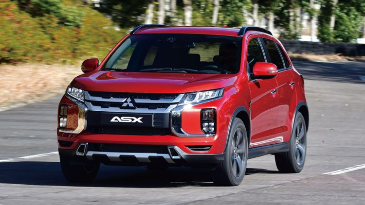 Mitsubishi ASX crossover follower declassified ahead of schedule