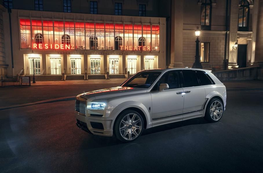 Rolls-Royce Cullinan gave more power and aggressiveness