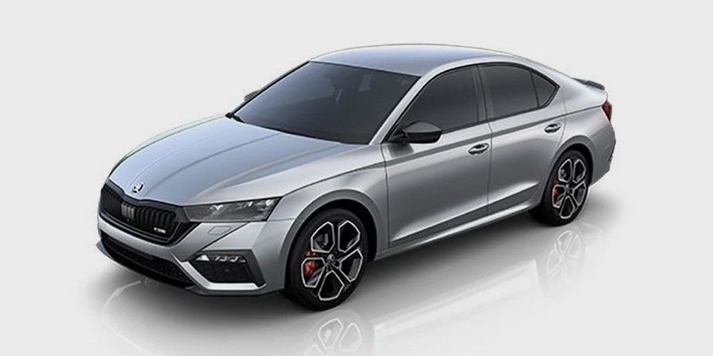 New Skoda Octavia RS declassified before the premiere