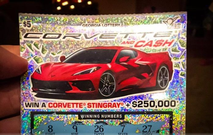 US lottery winner can't claim his prize - Chevrolet Corvette C8