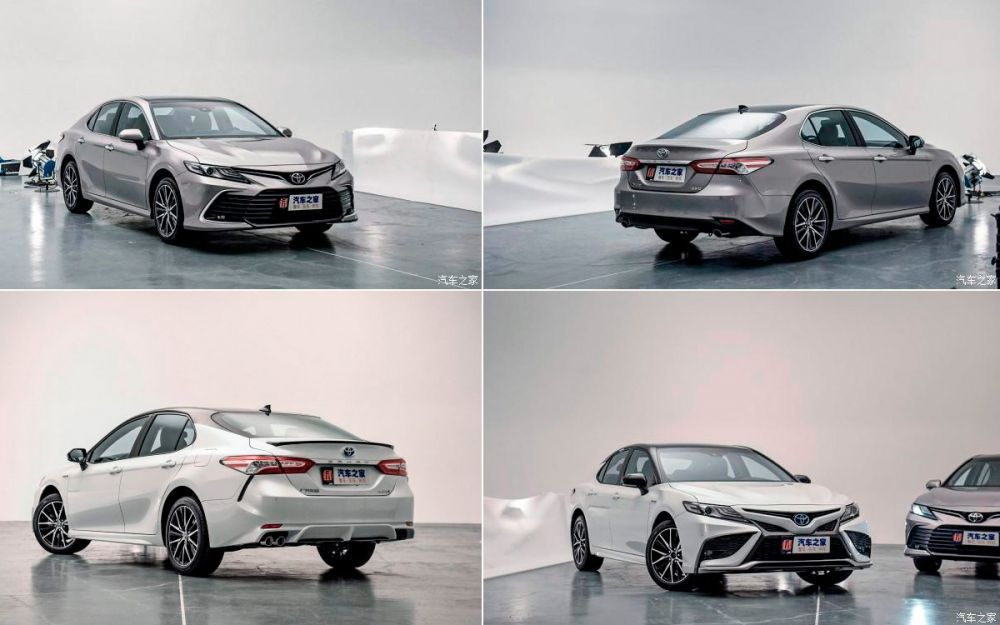 Renewed Toyota Camry for the Chinese market