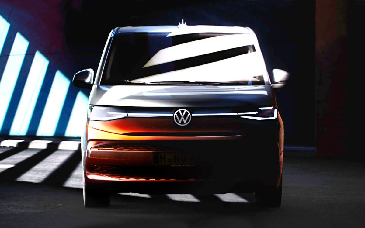 This is how the new Volkswagen Multivan will look like